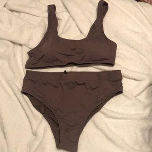 High waisted fashion nova bikini
